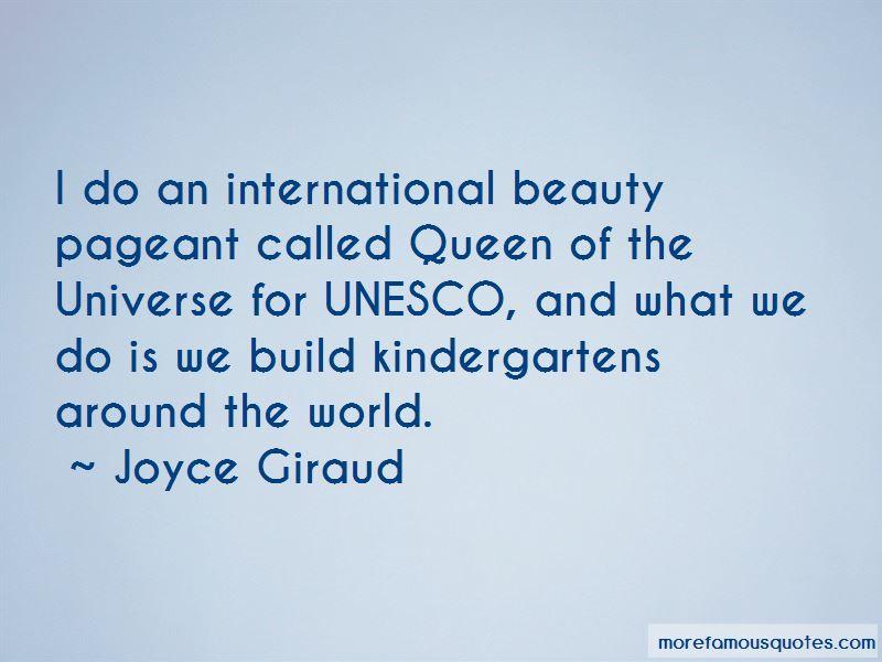 Joyce Giraud Quotes