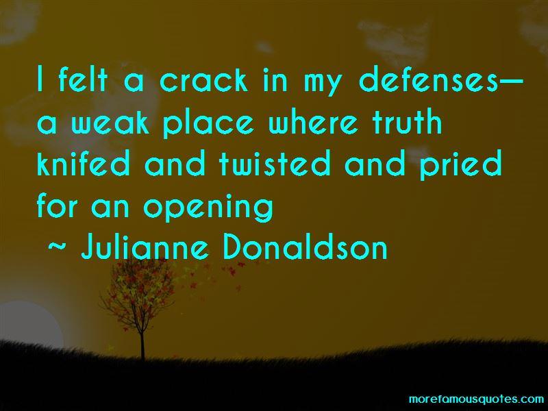 Julianne Donaldson Quotes