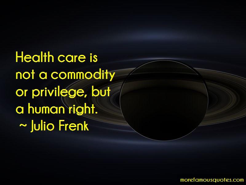 Julio Frenk Quotes