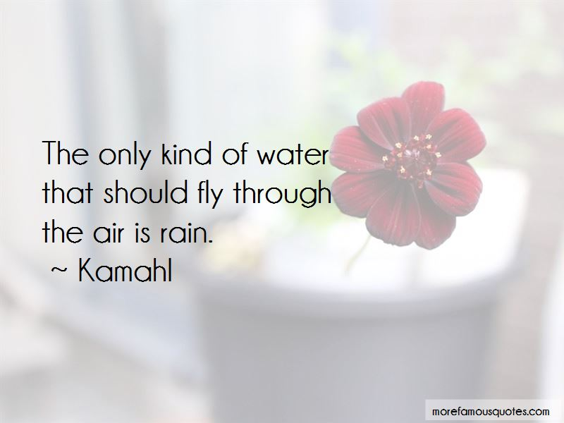 Kamahl Quotes