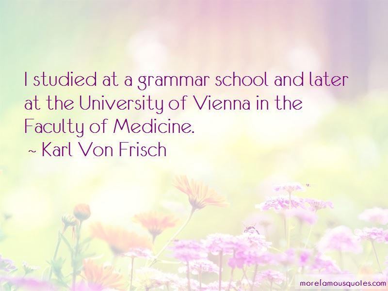 Karl Von Frisch Quotes Pictures 3