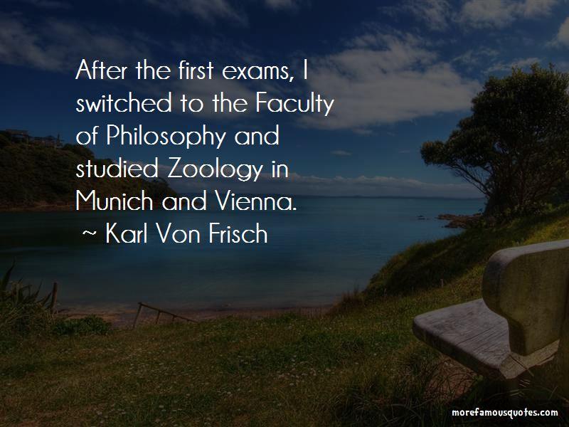 Karl Von Frisch Quotes Pictures 4