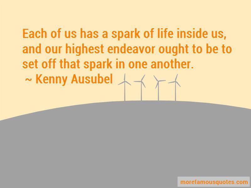 Kenny Ausubel Quotes