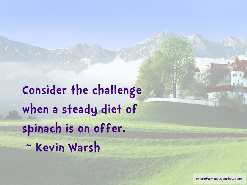 Kevin Warsh Quotes
