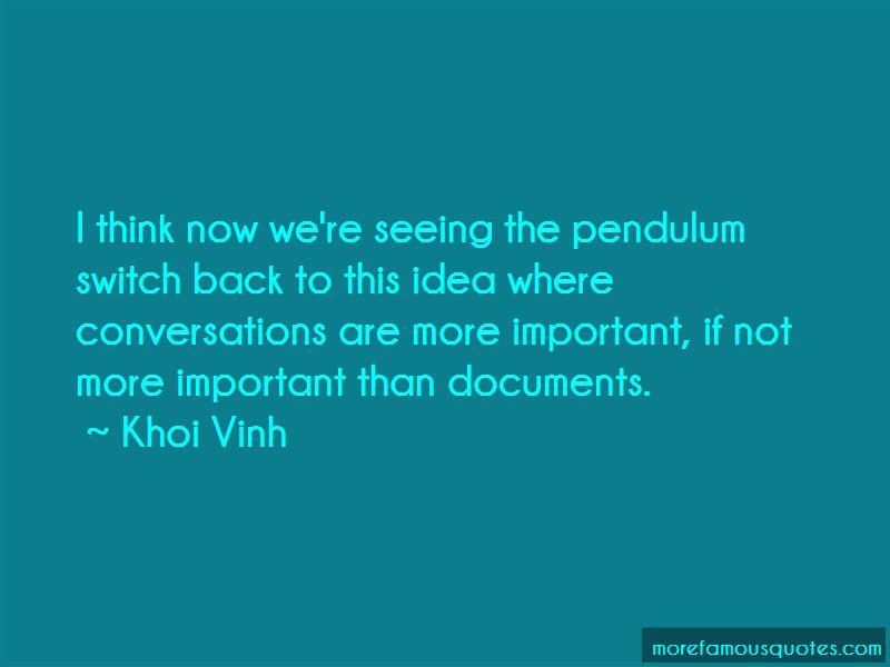 Khoi Vinh Quotes