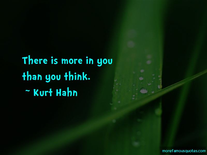 Kurt Hahn Quotes Pictures 2