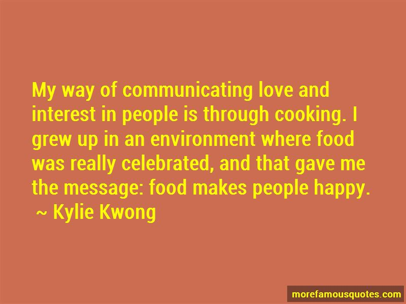 Kylie Kwong Quotes