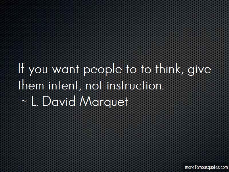 L. David Marquet Quotes Pictures 2