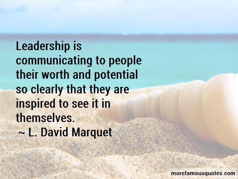 L. David Marquet Quotes Pictures 3