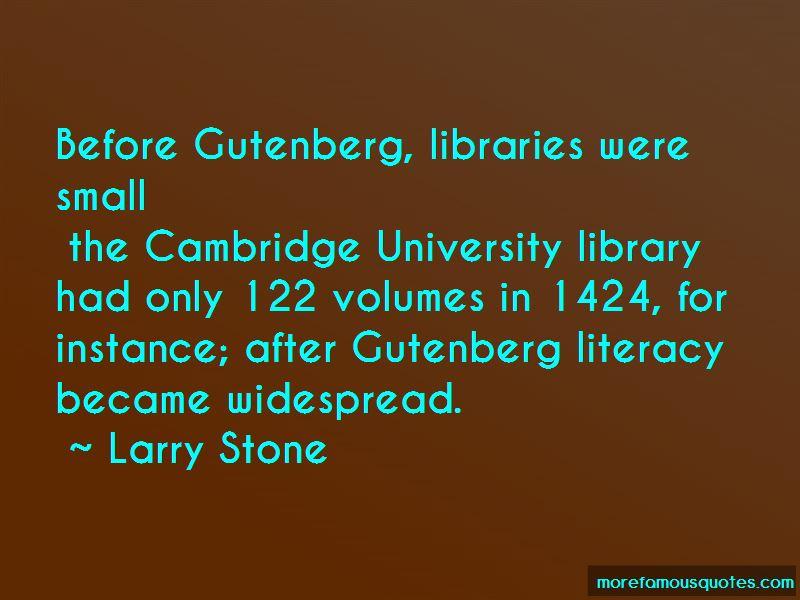Larry Stone Quotes