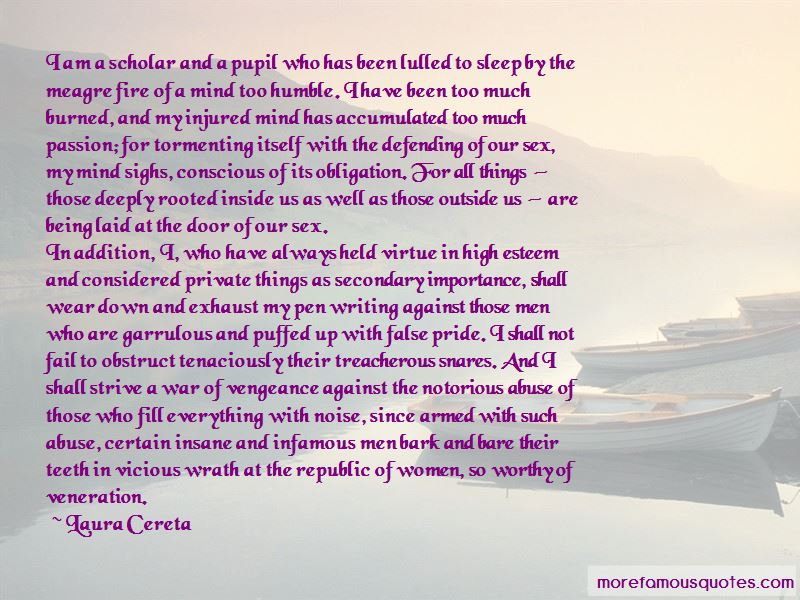 Laura Cereta Quotes Pictures 2