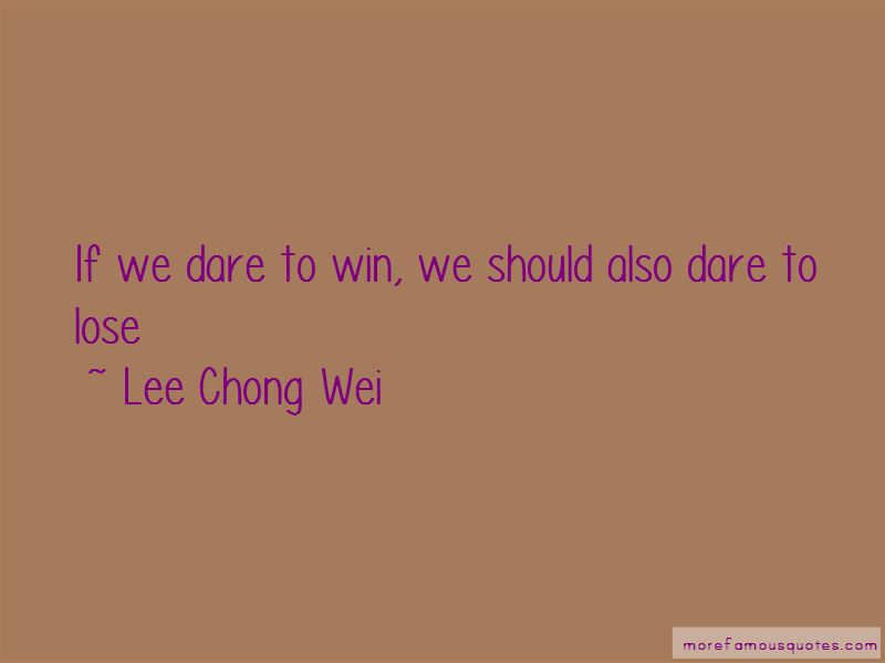 Lee Chong Wei Quotes Pictures 2