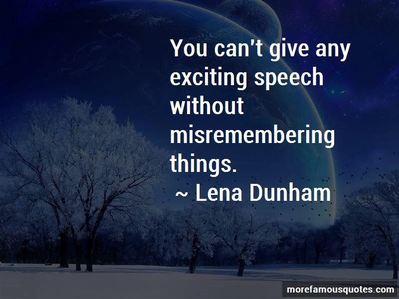 Lena Dunham Quotes