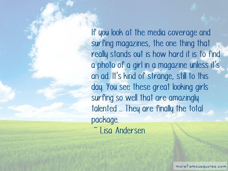 Lisa Andersen Quotes