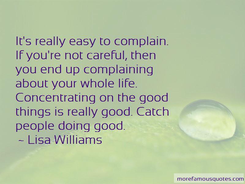 Lisa Williams Quotes