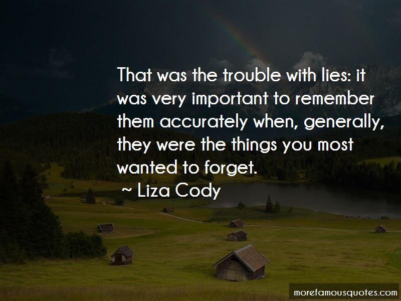 Liza Cody Quotes