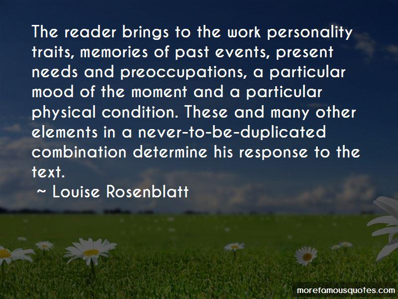 Louise Rosenblatt Quotes Pictures 2