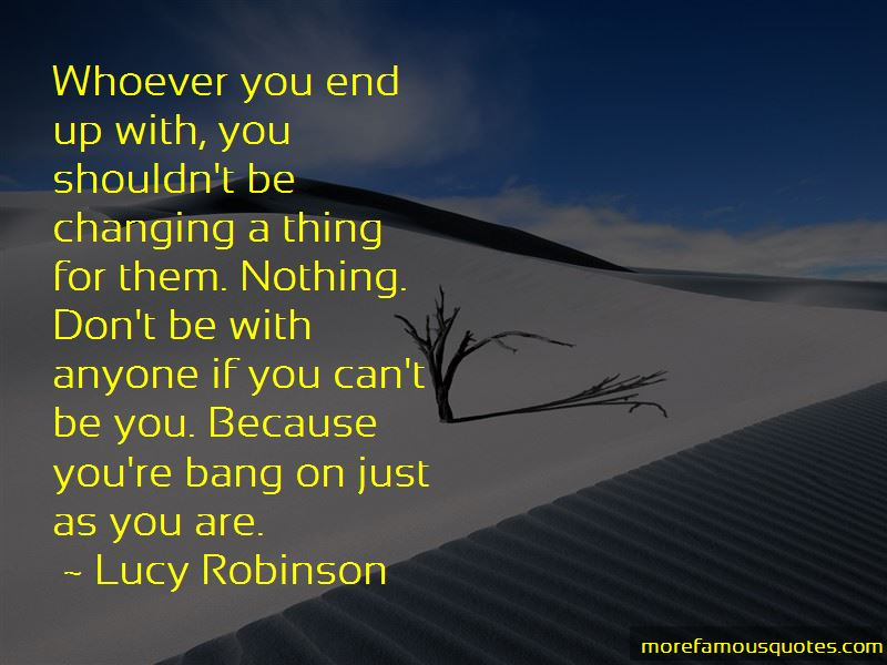 Lucy Robinson Quotes Pictures 2