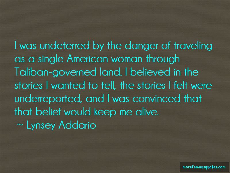 Lynsey Addario Quotes Pictures 3