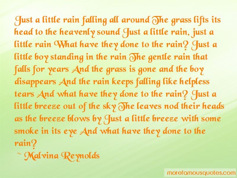 Malvina Reynolds Quotes Pictures 4
