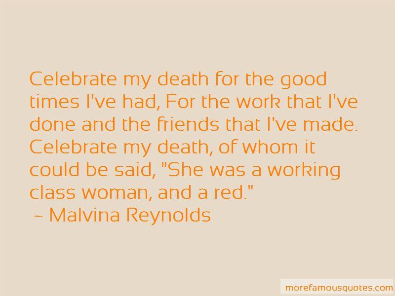 Malvina Reynolds Quotes