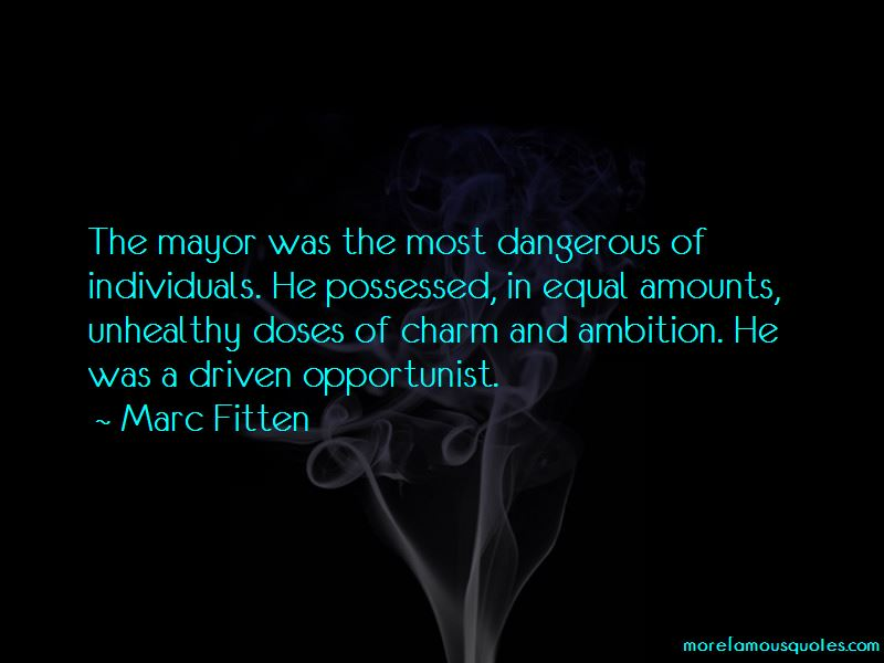 Marc Fitten Quotes