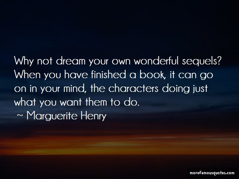Marguerite Henry Quotes Pictures 3