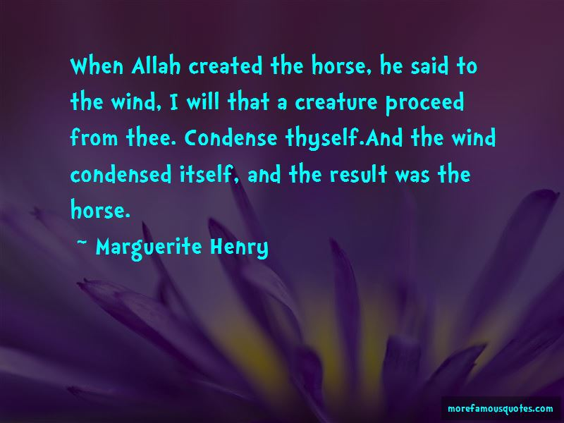 Marguerite Henry Quotes Pictures 4