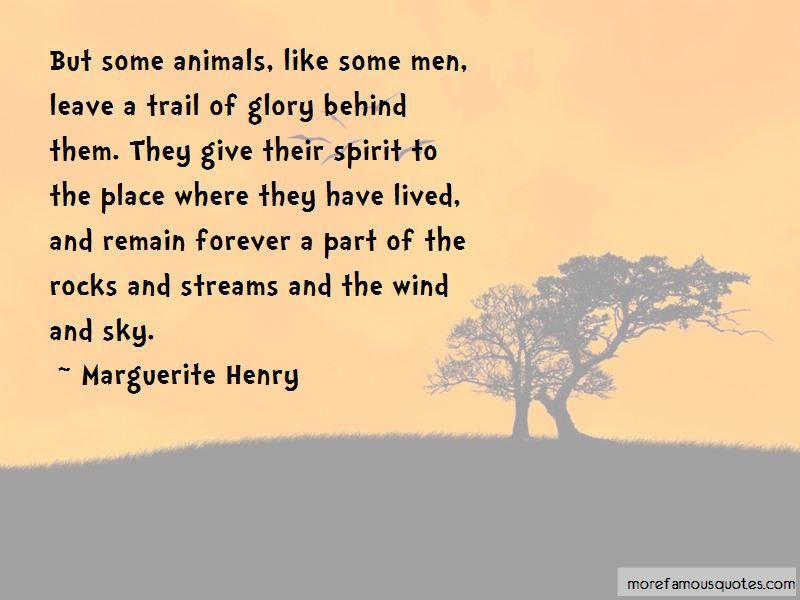 Marguerite Henry Quotes