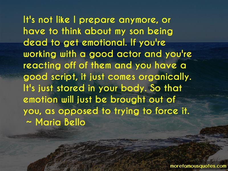 Maria Bello Quotes Pictures 2