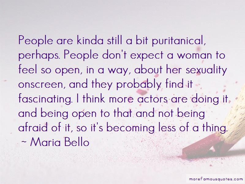 Maria Bello Quotes Pictures 3