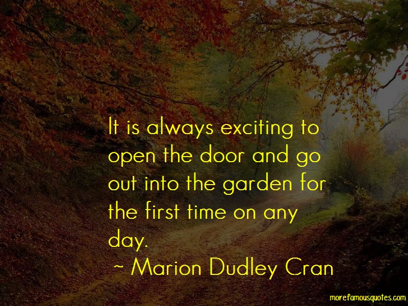 Marion Dudley Cran Quotes Pictures 2