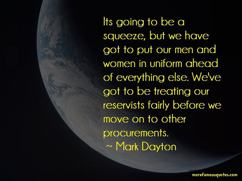 Mark Dayton Quotes