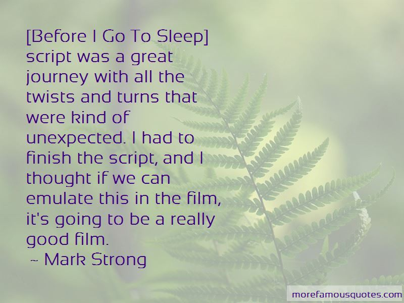 Mark Strong Quotes Pictures 2