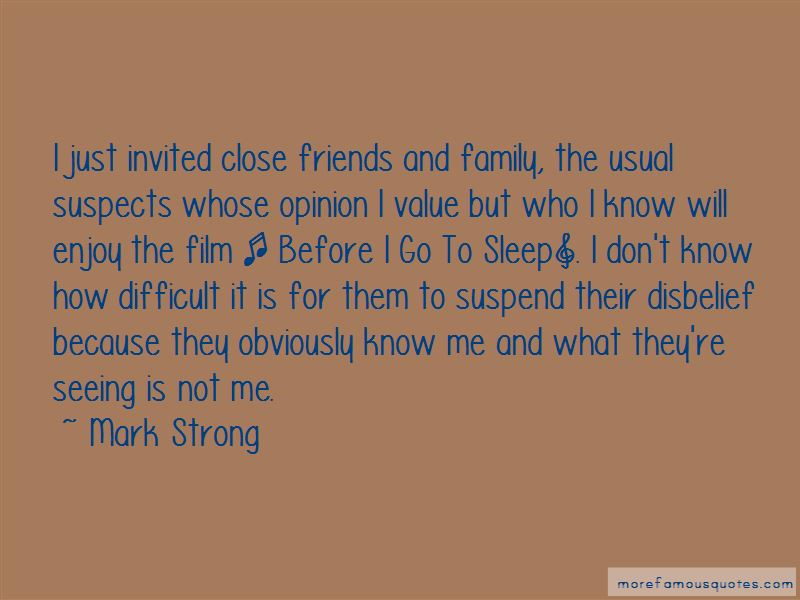Mark Strong Quotes