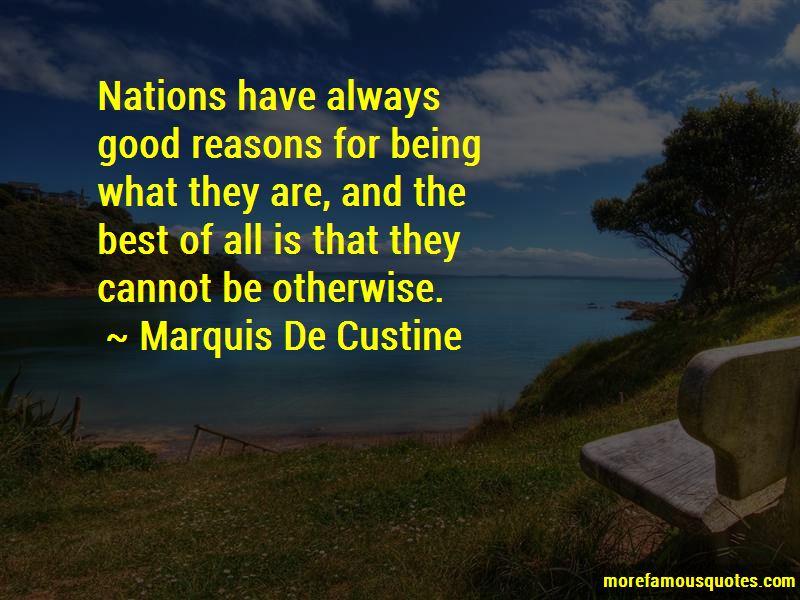 Marquis De Custine Quotes Pictures 2