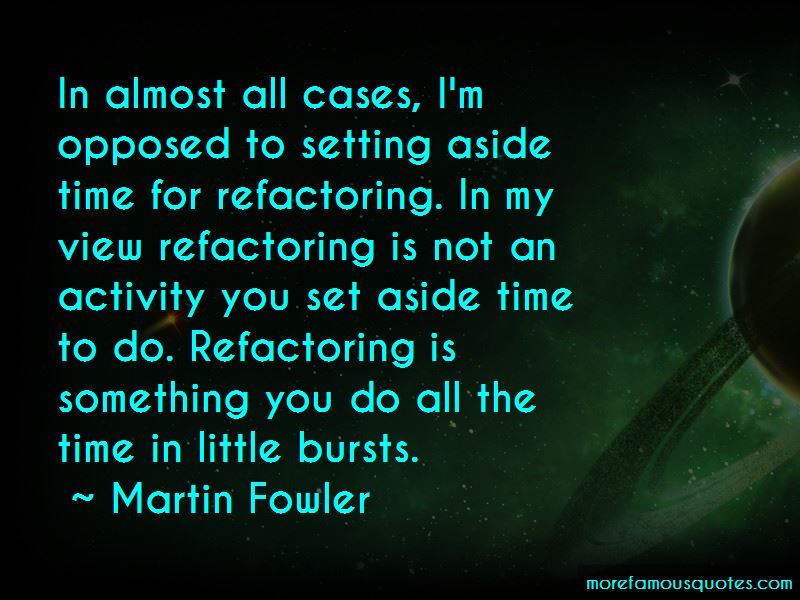 Martin Fowler Quotes