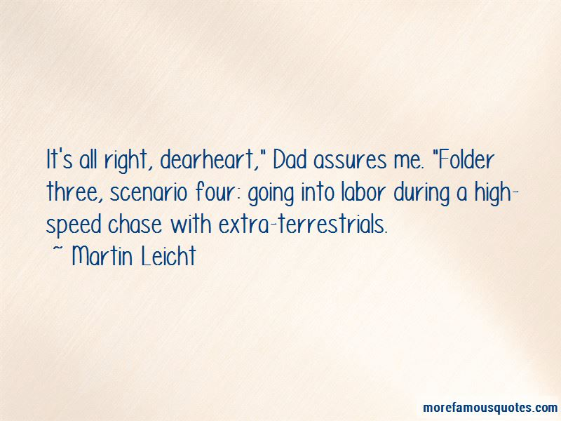 Martin Leicht Quotes