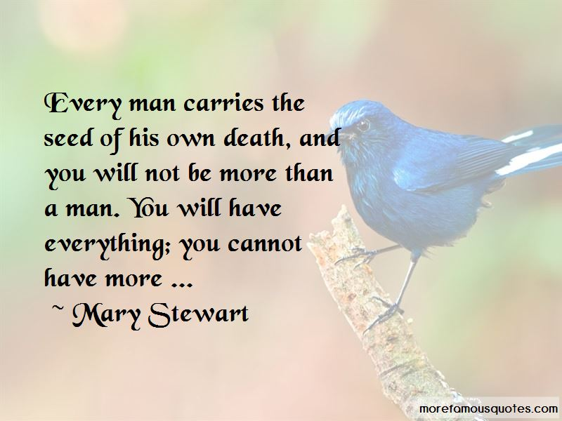 Mary Stewart Quotes