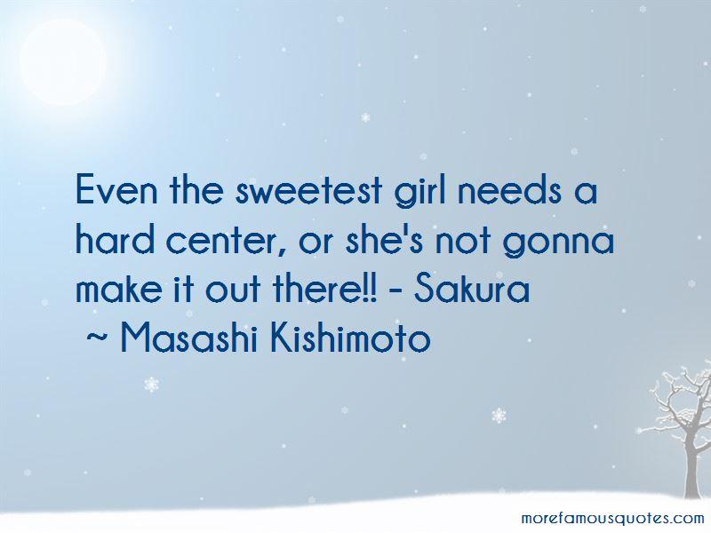 Masashi Kishimoto Quotes