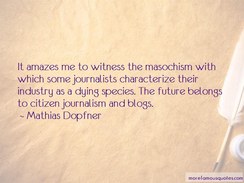 Mathias Dopfner Quotes
