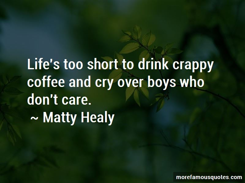 Matty Healy Quotes