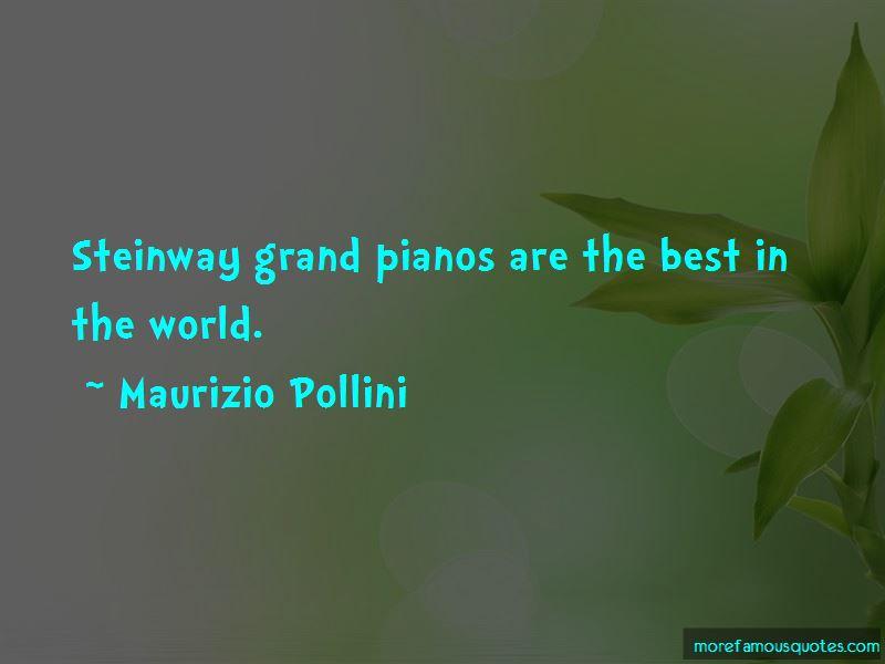Maurizio Pollini Quotes Pictures 2