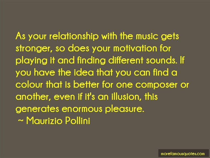 Maurizio Pollini Quotes
