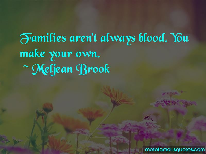 Meljean Brook Quotes