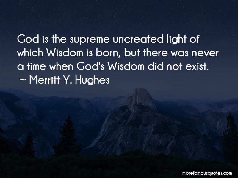 Merritt Y. Hughes Quotes