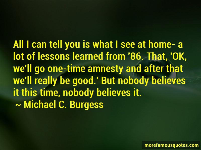 Michael C. Burgess Quotes