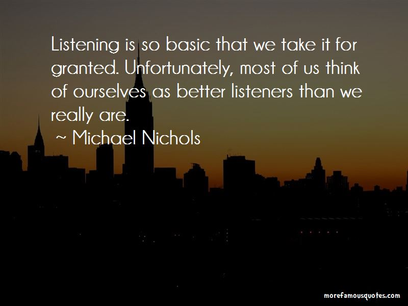 Michael Nichols Quotes Pictures 2