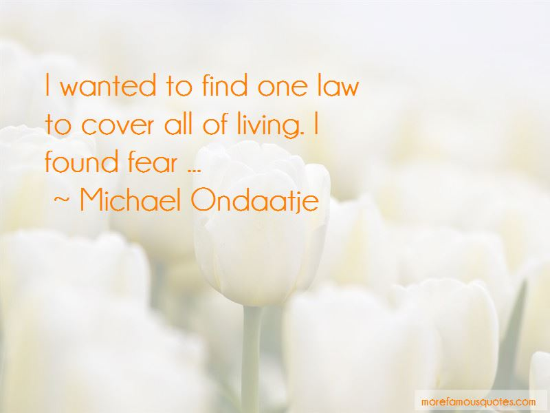 Michael Ondaatje Quotes Pictures 3