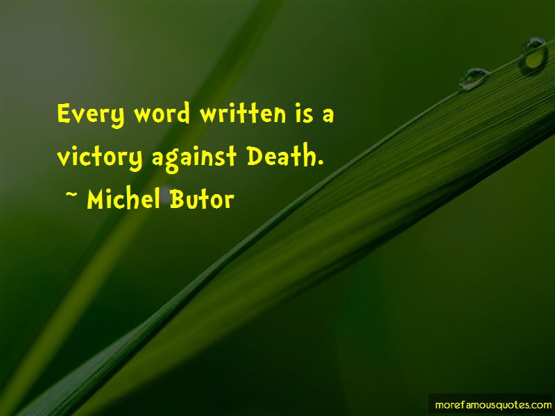 Michel Butor Quotes